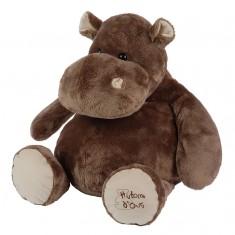 Peluche géante Hippopotame 80 cm