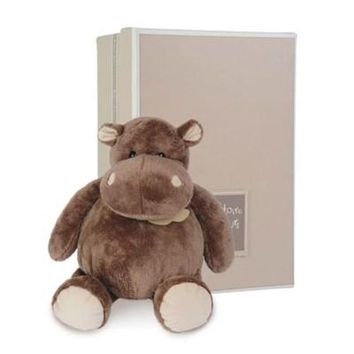 peluche hippopotame 23 cm histoire d 39 ours le lutin rouge. Black Bedroom Furniture Sets. Home Design Ideas