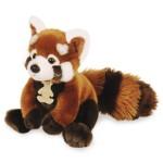 Peluche Les Authentiques : Le panda roux 20 cm