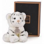Peluche Les Authentiques : Tigre blanc