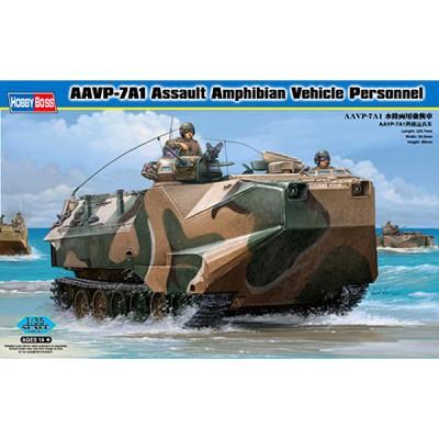 Maquette Char: AAVP-7A1 Assault Amphibian Vehicle - Hobbyboss-82410