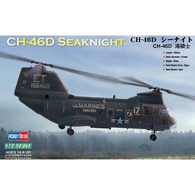 Maquette hélicoptère: American CH-46D Seaknight - Hobbyboss-87213
