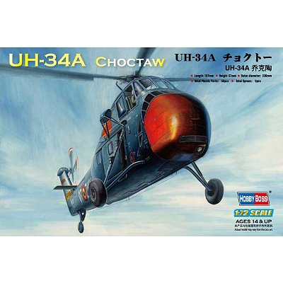 Maquette hélicoptère: American UH-34A Choctaw - Hobbyboss-87215