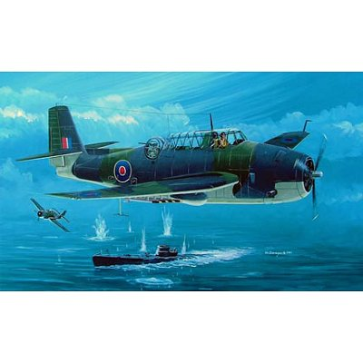 Maquette avion: British Fleet Air Arm Avenger Mk I  - Hobbyboss-80331