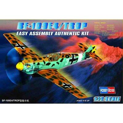 Maquette avion: BF 109 E-4 TROP - Hobbyboss-80261
