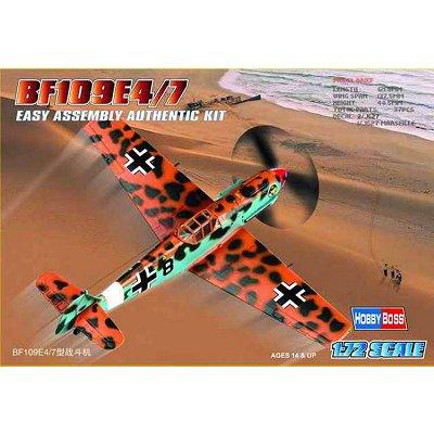 Maquette avion: BF 109 E-4/7 - Hobbyboss-80254
