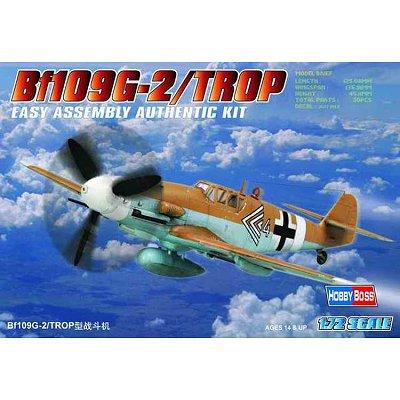 Maquette avion: Messerschmitt BF 109G-2 Trop - Hobbyboss-80224