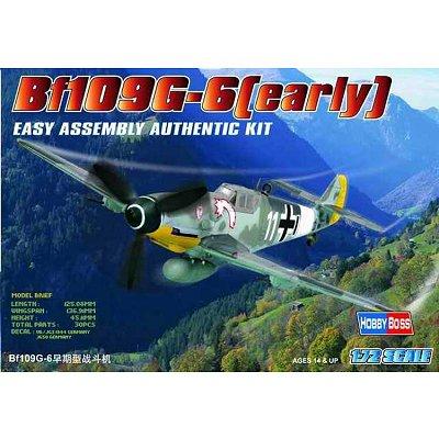 Maquette avion: Messerschmitt BF 109G Early - Hobbyboss-80225