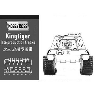 Accessoires militaires: Chenilles pour char KingTiger - Hobbyboss-81002