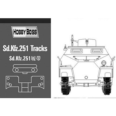 Accessoires militaires: Chenilles pour char SD. KFZ 251 - Hobbyboss-81005