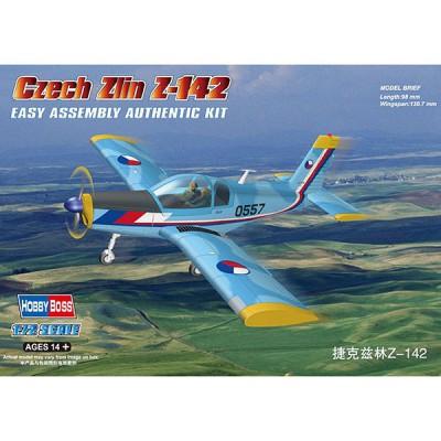 Maquette avion: Czech Zlin Z-142 - Hobbyboss-80282