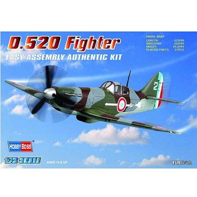 Maquette avion: Dewotoine D 520 - Hobbyboss-80237