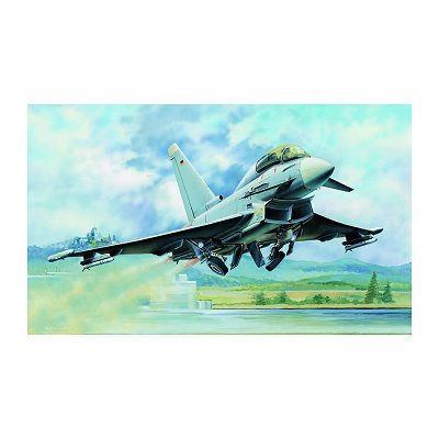 Maquette avion: EF-2000B Eurofighter Typhoon - Hobbyboss-80265