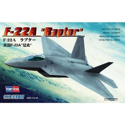 Maquette avion: F-22A Raptor - Hobbyboss-80210