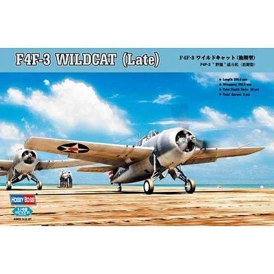 Maquette avion: F4F-3 WildcatI (Late) - Hobbyboss-80327