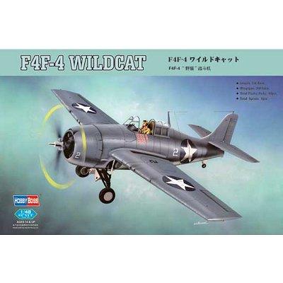 Maquette avion: F4F-4 Wildcat 2 - Hobbyboss-80328