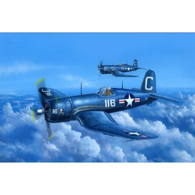 Maquette avion: F4U-4 Corsair Early Version - Hobbyboss-80386