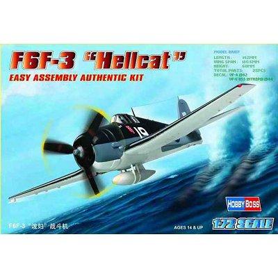 Maquette avion: F6F-3 Hellcat - Hobbyboss-80256