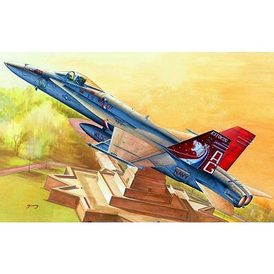 Maquette avion: F/A-18C Hornet - Hobbyboss-80321