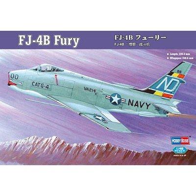 Maquette avion: FJ-4B Fury - Hobbyboss-80313