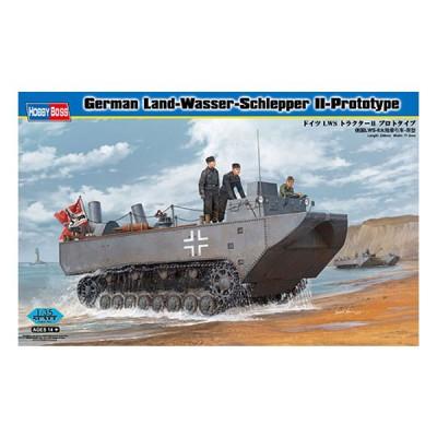 Maquette blindé allemand amphibieLSW II Prototype - Hobbyboss-82461