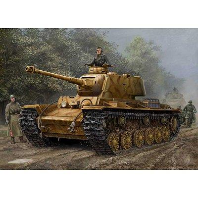 Maquette Char: German PZ.KPFW KV-1 756r - Hobbyboss-84818