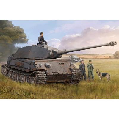 Maquette Char: German VK4502 (P) Vorne - Hobbyboss-82444