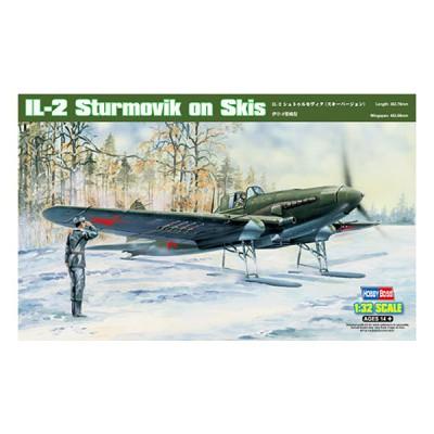 Maquette avion: IL-2 Sturmovik on Skis - Hobbyboss-83202