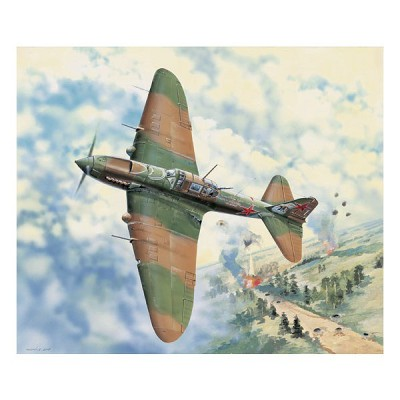 Maquette avion: IL-2M3 Ground Attack Airc. - Hobbyboss-83204