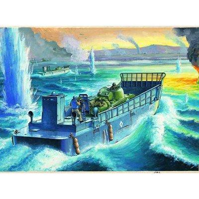 Maquette bateau: Barge de débarquement LCM 3 USN  - Hobbyboss-84817