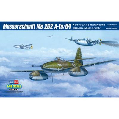 Maquette avion: Messerschmitt Me 262 A-1a/U4 - Hobbyboss-80372
