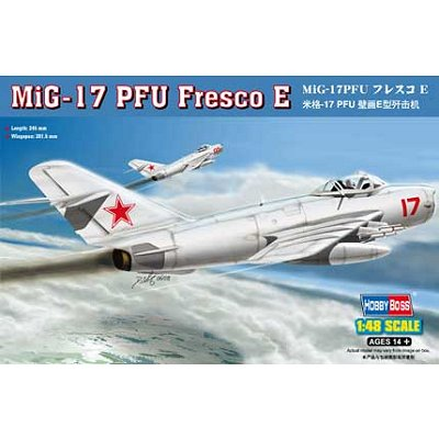 Maquette avion : MIG - 17 PM Fresco E - Hobbyboss-80337