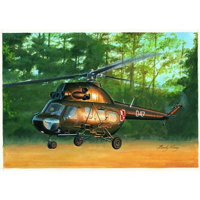 Maquette hélicoptère: Mil mi-2 US hoplite gun - Hobbyboss-87242