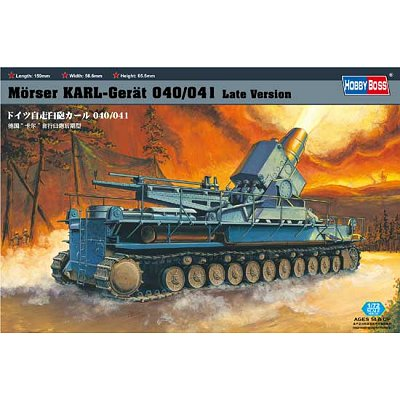 Maquette Char: Morser Karl-Geraet 041 - Hobbyboss-82905