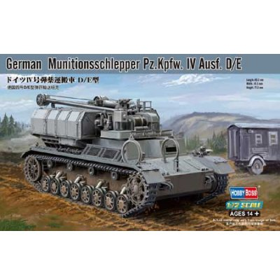 Maquette Char : German Munitionsschlepper D/E - Hobbyboss-82907