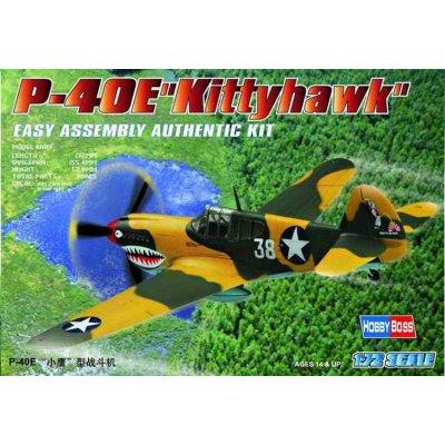 Maquette avion: P-40 E Kittyhawk - Hobbyboss-80250