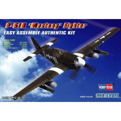 Maquette avion: P-51 B Mustang - Hobbyboss-80242
