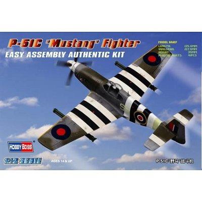 Maquette avion: P-51 C Mustang - Hobbyboss-80243