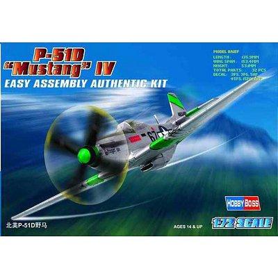 Maquette avion: P-51 D Mustang IV - Hobbyboss-80230