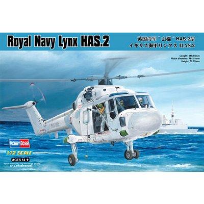 Maquette hélicoptère: Royal Navy Lynx HAS.2 - Hobbyboss-87236