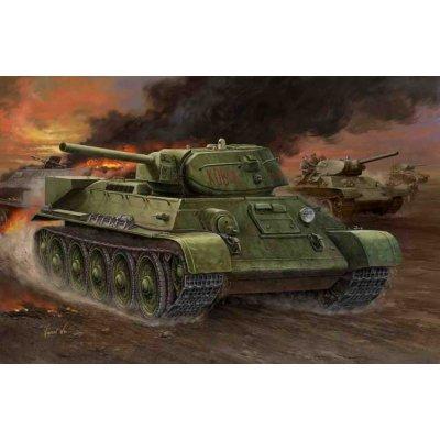 Maquette Char: Russia T-34/76 Model 1942 Factory N°112 Tank - Hobbyboss-84806