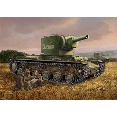 Maquette Char: Russia N KV-2 Tank - Hobbyboss-84816