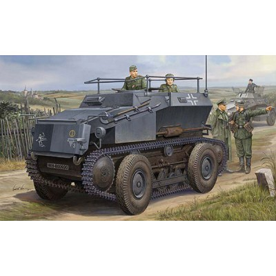 Maquette German Sd.Kfz.254 Tracked Armoured Scout Car - Hobbyboss-82491