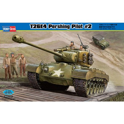 Maquette Char : T26E4 Pershing, Pilote 2 - Hobbyboss-82427