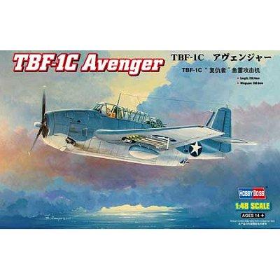 Maquette avion: TBF-1C Avenger - Hobbyboss-80314