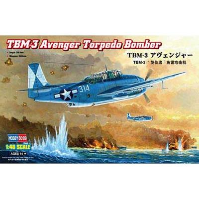 Maquette avion: TBM 3 Avenger Torpedo - Hobbyboss-80325