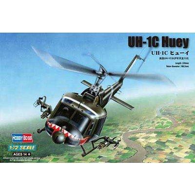 Maquette hélicoptère: UH-1C Huey - Hobbyboss-87229