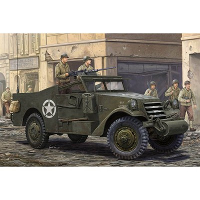 Maquette U.S. M3A1 White Scout Car - Hobbyboss-82452