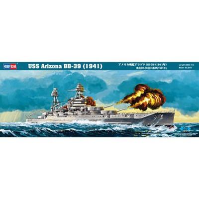 Maquette bateau: USS Arizona BB-39 1941 - Hobbyboss-86501