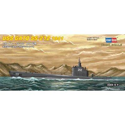 Maquette sous-marin: USS Gato SS-212 1941 - Hobbyboss-87012